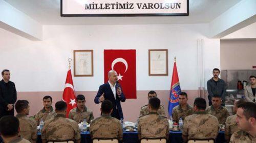 İçişleri Bakanı Süleyman Soylu, Batman İl Jandarma Komutan